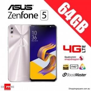 Asus Zenfone 5 64GB ZE620KL 4G LTE 4GB RAM Unlocked Smart Phone Meteor Silver