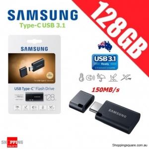 Samsung 128GB Type-C USB 3.1 Flash Drive Memory Thumb Pendrive Black 150MB/s