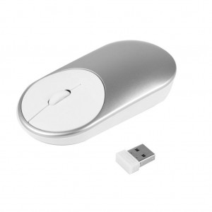 Wireless Optical Mouse Silent Click Key with Receiver for PC Laptop Notebook 2.4GHz
