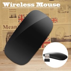 Optical Wireless Magic Mouse Multi Touch 2.4GHz For Windows Mac OS Android Black