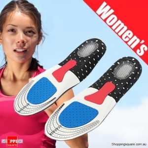 1 Pair of Women's Free Size Gel Orthotic Sport Shoes Insoles Arch Support Pad Insert Cushion