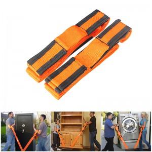 Set of 2 Furniture Moving Belts Straps