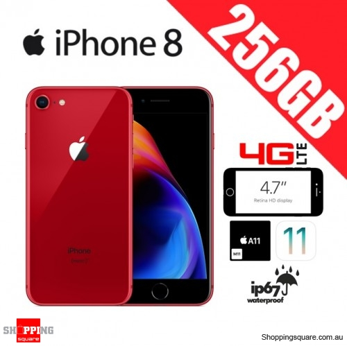 Apple iPhone 8 256GB 4G LTE Unlocked Smart Phone Red
