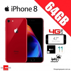 Apple iPhone 8 64GB 4G LTE Unlocked Smart Phone Red