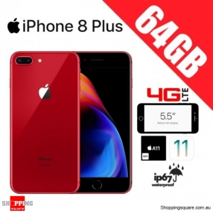 Apple iPhone 8 Plus 64GB 4G LTE Unlocked Smart Phone Red
