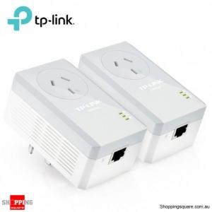 TP-Link AV600 Passthrough Powerline Adapter Starter Kit