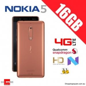 Nokia 5 16GB TA-1053 Dual Sim 4G LTE Unlocked Smart Phone Cooper