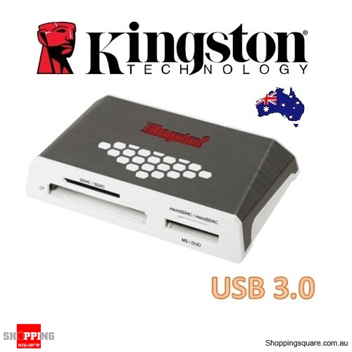 Kingston High-Speed Media Card Reader USB 3.0 Support CF SD Micro SD Memory Stick