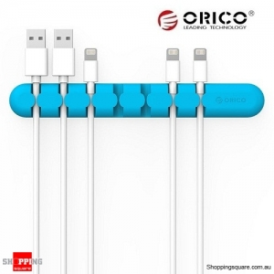 ORICO Tabletop Cable Organizer Blue Colour