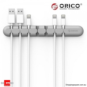 ORICO Tabletop Cable Organizer Grey Colour