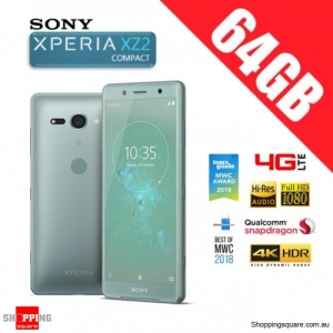 Sony Xperia XZ2 Compact 64GB H8324 4G LTE Dual Sim Unlocked Smart Phone Moss Green