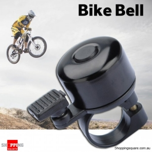 Bike Bicycle Handlebar Metal Sound Ring Bell Alarm Black Colour