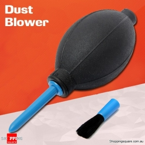 Rubber Dust Dirt Blower Air Pump Cleaner Watch Tool with Brush for Camera Lens Comptuer