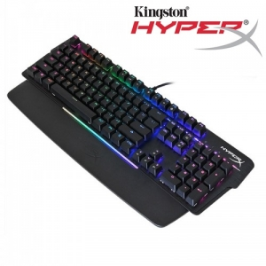 Kingston HyperX Mars RGB Mechanical Pro Gaming Keyboard Adjustable Background Color Brightness PUBG Fortnite LoL