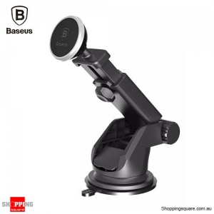 Baseus Telescopic Magnetic Car Mount Stand - Silver Colour
