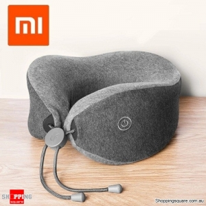 Xiaomi Multifunctional Soft and Comfortable U-shaped Massage Neck Pillow Double Interior Bedsit Pillow