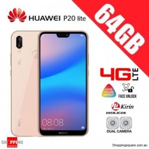 Huawei P20 Lite 64GB ANE-LX2 4G LTE Dual Sim Unlocked Smart Phone Sakura Pink