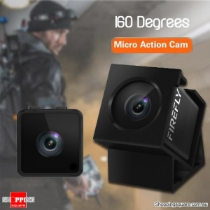 160 Degree HD 1080P FPV Micro Mini Action Camera DVR with Built-in Mic for RC Drone Sports