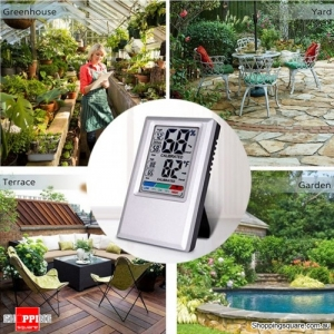 Garden Digital Hygrometer Hygro-Thermometer Temperature Humidity Max&Min Value Display Testing Tool