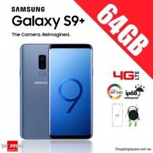 Samsung Galaxy S9 Plus 64GB G9650 Dual Sim 4G LTE Unlocked Smart Phone Coral Blue