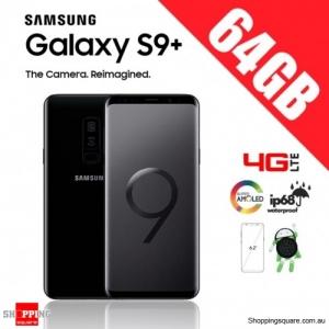Samsung Galaxy S9 Plus 64GB G9650 Dual Sim 4G LTE Unlocked Smart Phone Midnight Black