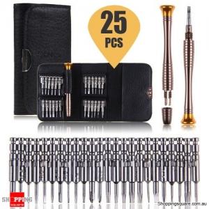 25 in 1 Professional Screwdriver Repair Tool Kit For Macbook Pro Air iPhone Android