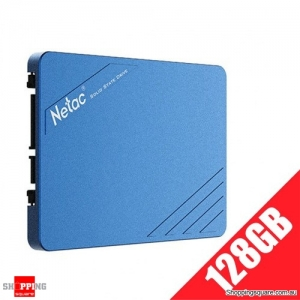 "Netac N600S SSD 2.5"" SATA III 6Gb/s SLC Flash Internal Solid State Drive - 128GB"
