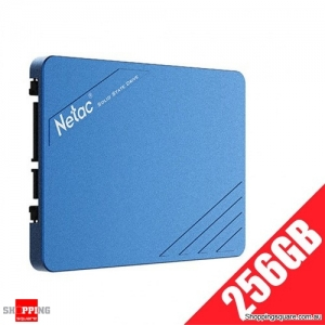 "Netac N600S SSD 2.5"" SATA III 6Gb/s SLC Flash Internal Solid State Drive - 256GB"