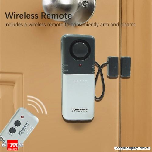 Magnetic trigger sensor Waterproof Detector Door Alert Remote Control RC Anti-theft Alarm