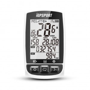 iGPSPORT iGS50E Waterproof GPS Bicycle Sport Computer Speedometer with ANT+ Function White Colour