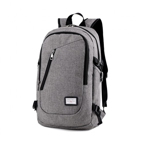0b33151cf7dd Men s Casual Large Capacity Laptop Backpack with USB Port Gray Colour -  Online Shopping   Shopping Square.COM.AU Online Bargain   Discount Shopping  Square