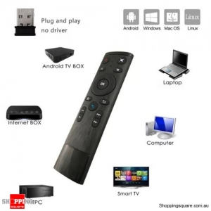 Q5 2.4G Voice-Controlled Air Mouse Remote Controller