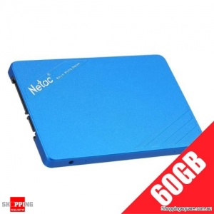 Netac N500S 2.5 Inch SATA6Gb/s Solid State Drive SSD - 60 GB