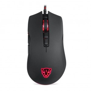 Motospeed V70 USB Wired RGB 12000dpi 7 Key with PMW3360 Engine Gaming Mouse - Black Colour