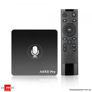 A95X Pro Amlogic S905W 2GB RAM 16GB ROM Android 7.1 TV Box with Voice Control