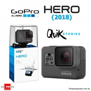 GoPro New Hero (2018) Full HD 1440P 60fps Action Camera Black