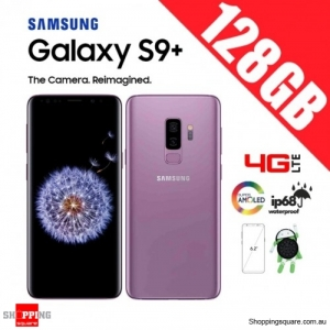 Samsung Galaxy S9 Plus 128GB G9650 Dual Sim 4G LTE Unlocked Smart Phone Lilac Purple