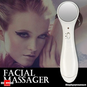 Anti-wrinkle Facial Micro Vibrate Massager Roller Cleaner Ion Health Care Device
