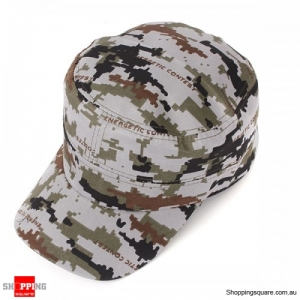 Trucker Cap Flat Army Camouflage Military Soldier Hat Sport Cap Jungle- Cadpat Digital Camouflage