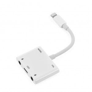 DC 3.5 Jack Adapter Lightning to Voice Beauty Audio Adapter Connector Cable for iPhone/iPad/iPod touch