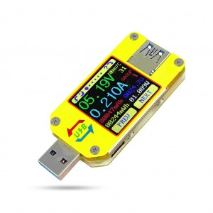 USB 3.0 Type-C DC Voltmeter Ammeter Voltage Current Meter Battery Charge Measure Cable Resistance Tester