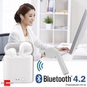 I7 Mini TWS Bluetooth 4.2 Headset with Charging Box