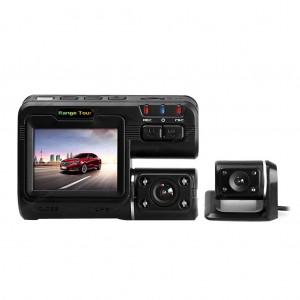 HD 1080P Dual Lens Car DVR Camera Dash Cam Camcorder