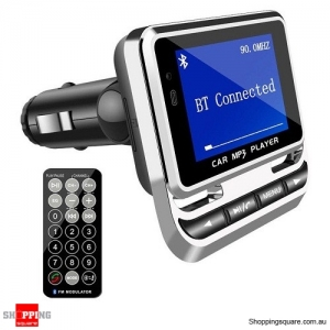 Wireless Bluetooth Car MP3 Music Player FM Transmitter Charger Kit for iphone Samsung