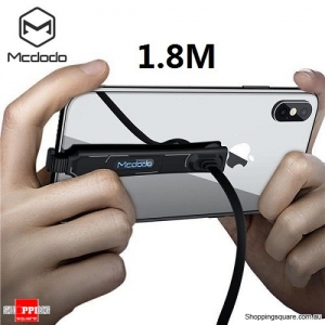 1.8M MCDODO Gaming/Netflix Rapid Charging Lightning Cable For iPhone X 8 7 6 6S PLUS
