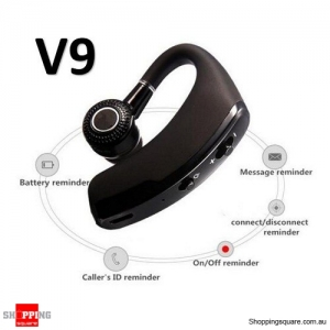 V9 Bluetooth Headset For iPhone Samsung