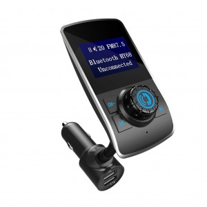 HY-68 Bluetooth Car FM Transmitter MP3 Player with 3.1A Dual USB Charger