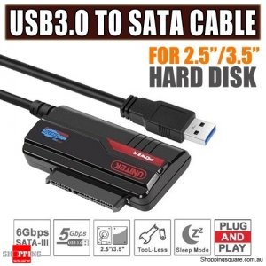 UNITEK External USB 3.0 To 2.5&3.5 Inch SATA HDD SSD Adapter Converter Cable