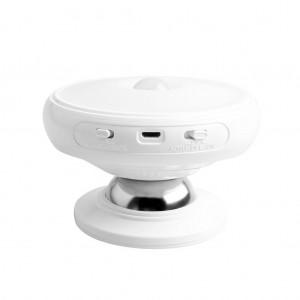 360° Rotatable LED Motion Sensor Wall Light Night Light for Wardrobe/Cabinet - White Colour