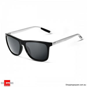 Resin UV400 Polarized Anti-UV Sunglasses Square Frame Out-dooors Driving Driving Glasses - Gray